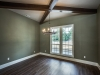 Dining Room with Beams